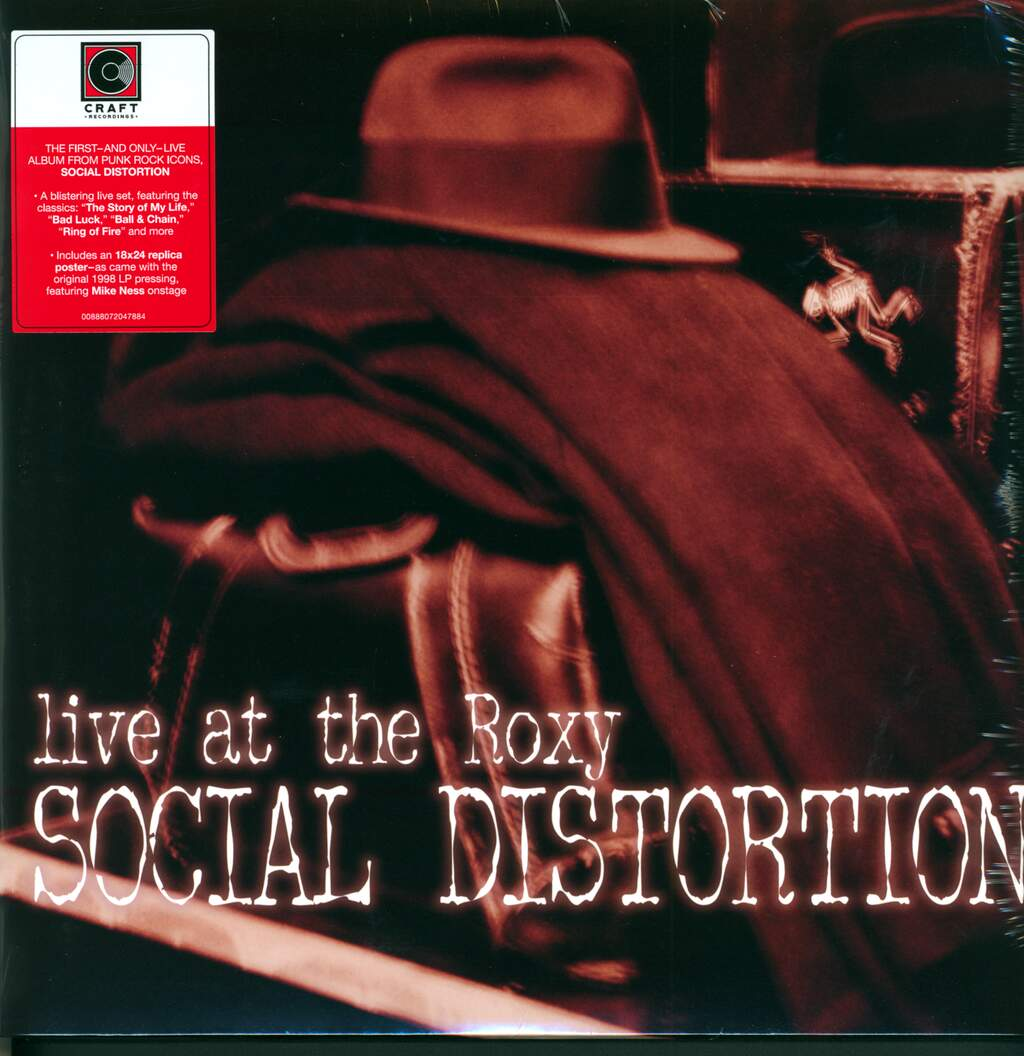 Social Distortion: Live At The Roxy, 2×LP (Vinyl)