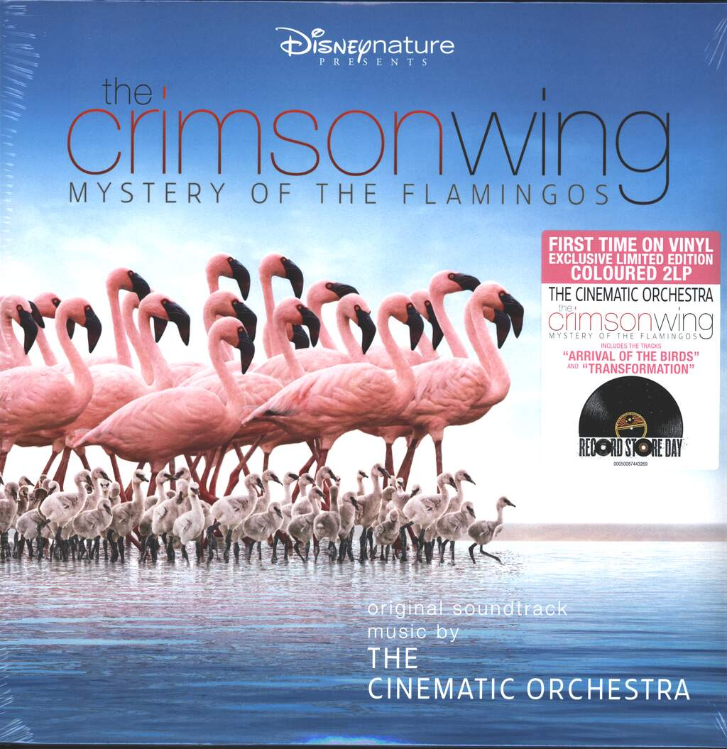 The Cinematic Orchestra: The Crimson Wing - Mystery Of The Flamingos, 2×LP (Vinyl)