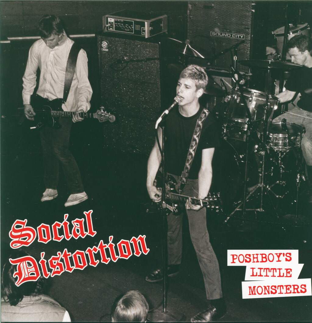 "Social Distortion: Poshboy's Little Monsters, 12"" Maxi Single (Vinyl)"