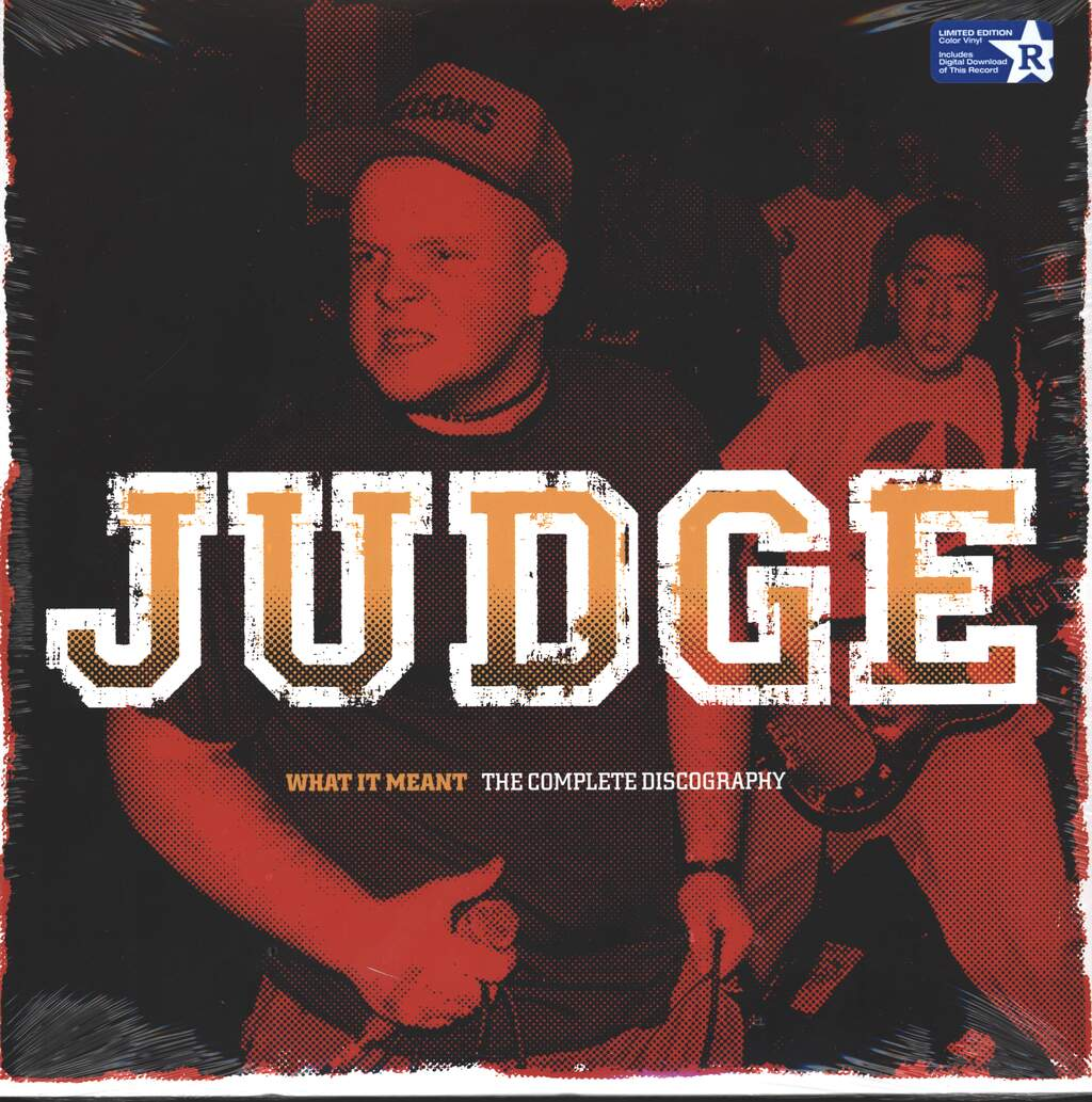 Judge: What It Meant - The Complete Discography, 2×LP (Vinyl)