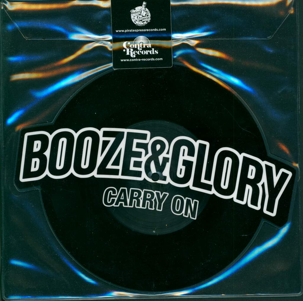"""Booze & Glory: Carry On / Blood From A Stone, 7"""" Single (Vinyl)"""