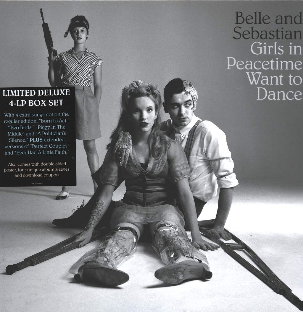 Belle & Sebastian: Girls In Peacetime Want To Dance, 4×LP (Vinyl)