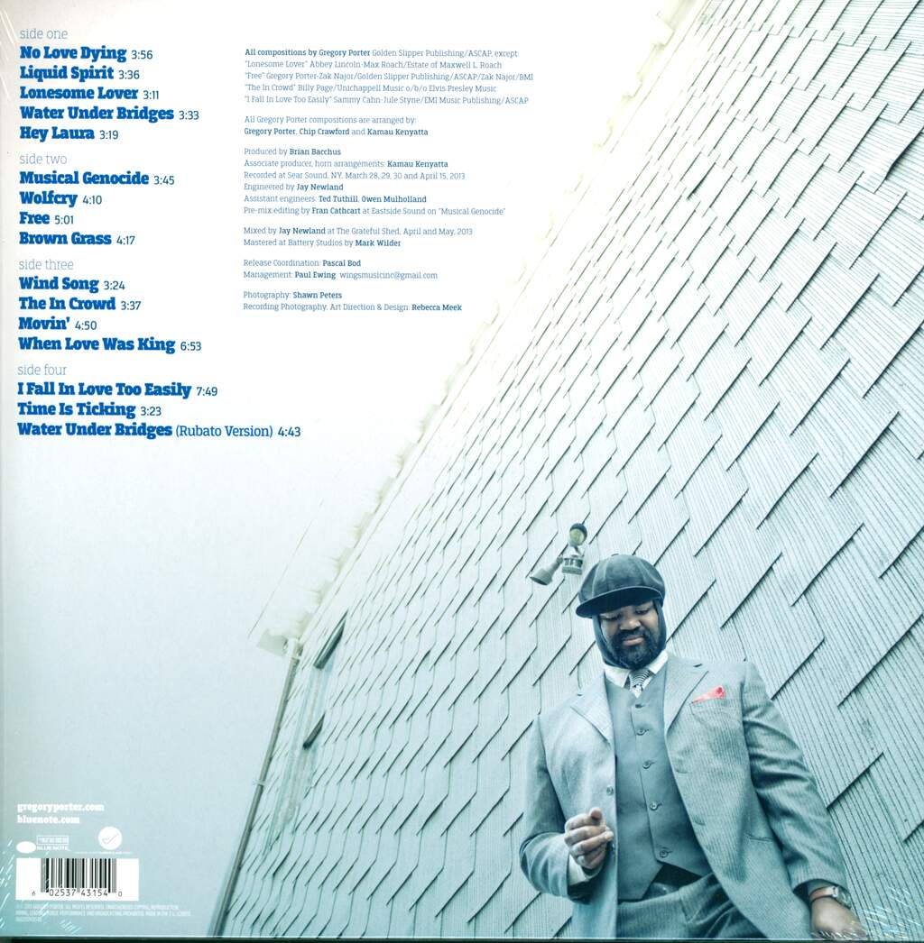 Gregory Porter: Liquid Spirit, 2×LP (Vinyl)