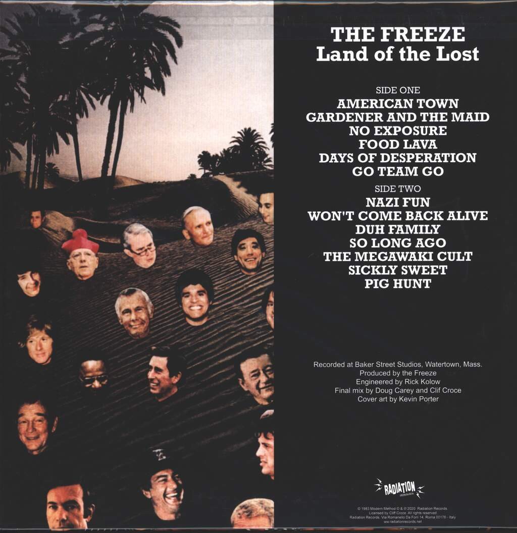 The Freeze: Land Of The Lost, LP (Vinyl)