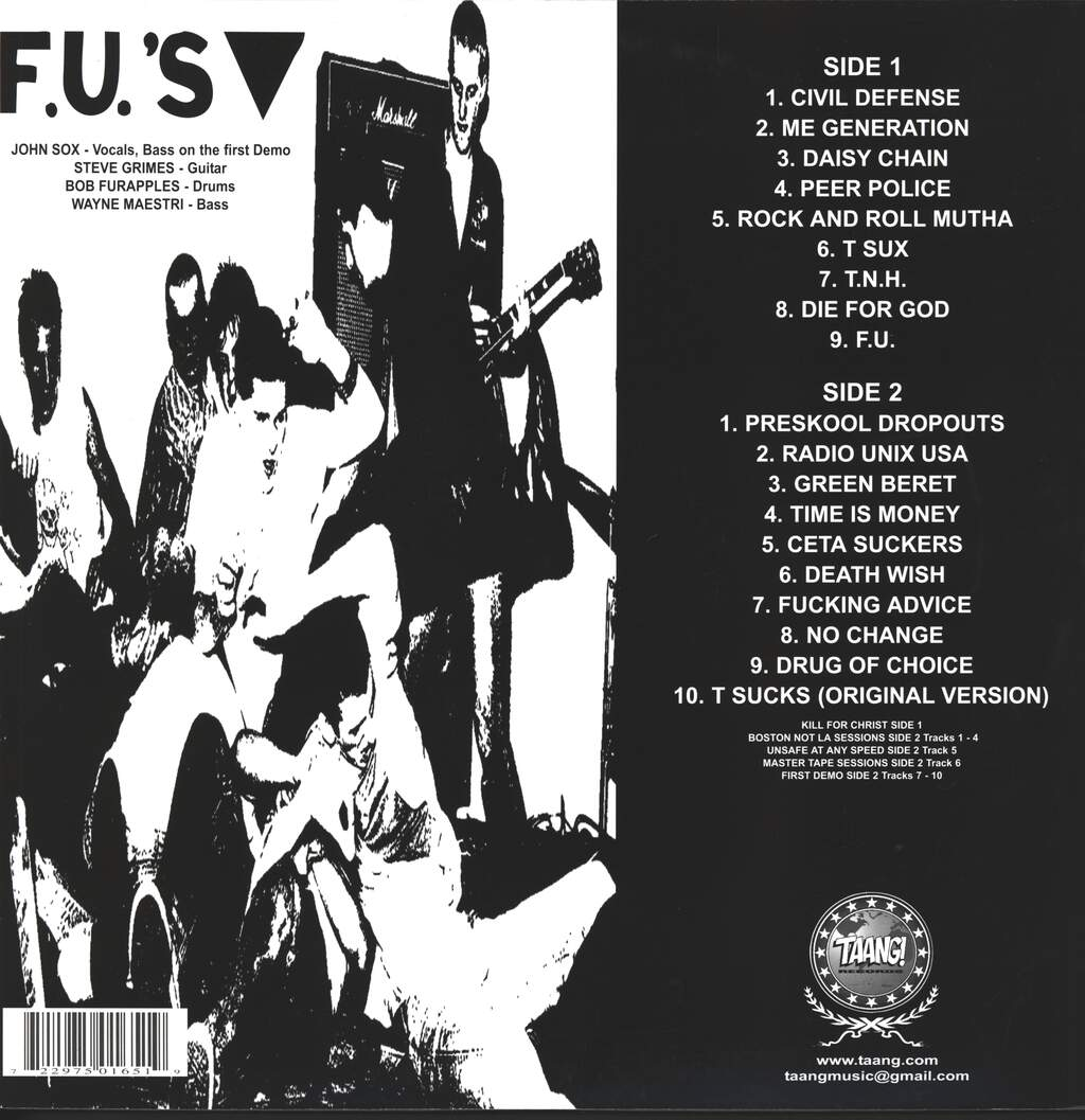 Fu's: Kill For Christ, LP (Vinyl)