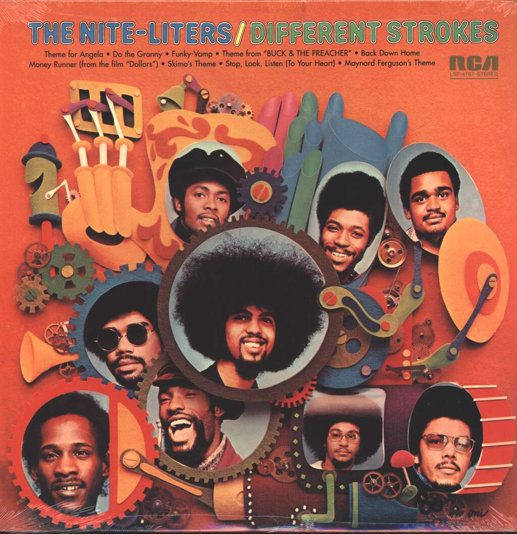 The Nite-Liters: Different Strokes, LP (Vinyl)