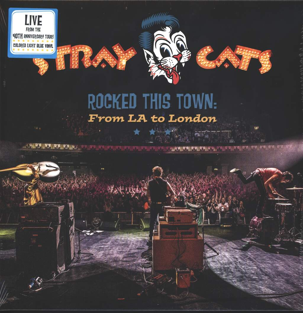 Stray Cats: Rocked This Town: From LA To London, 2×LP (Vinyl)