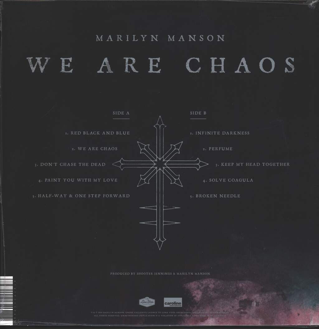Marilyn Manson: We Are Chaos, LP (Vinyl)