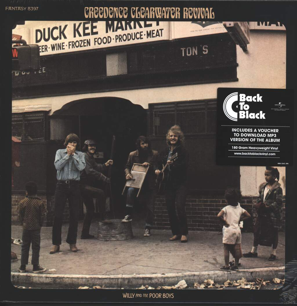 Creedence Clearwater Revival: Willy And The Poor Boys, LP (Vinyl)