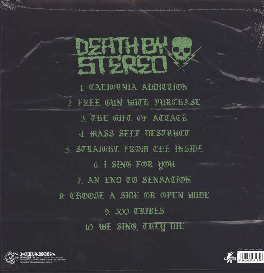 Death By Stereo: We're All Dying Just In Time, 2×LP (Vinyl)