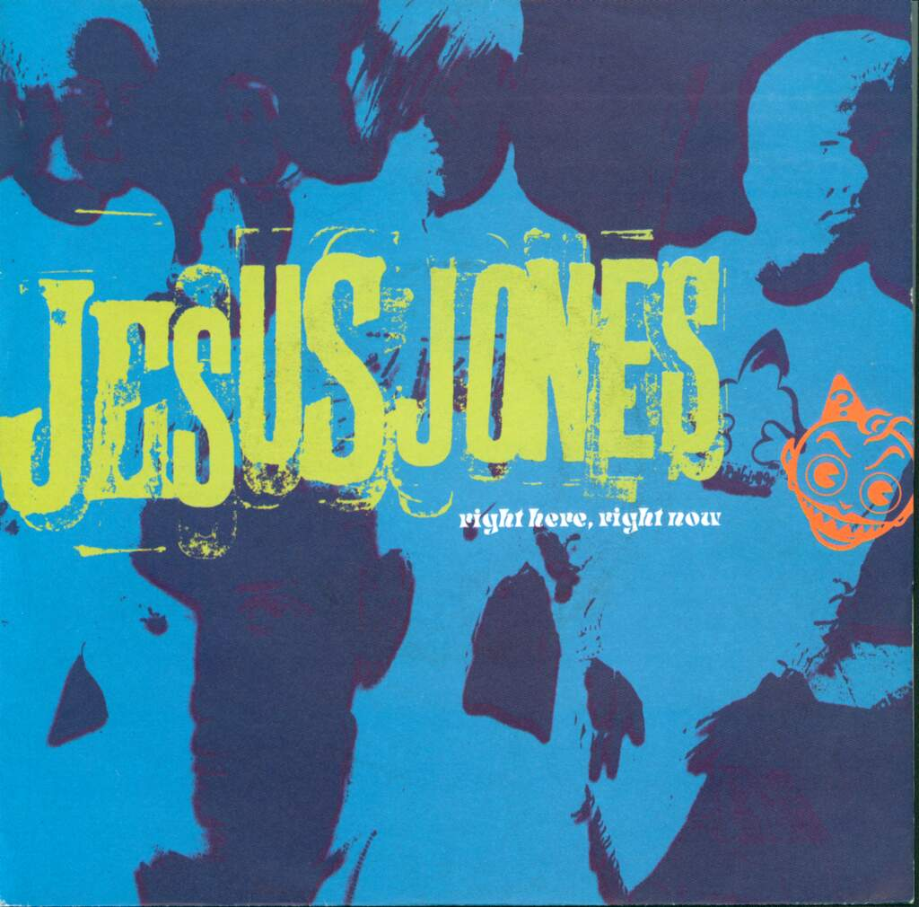 "Jesus Jones: Right Here, Right Now, 7"" Single (Vinyl)"
