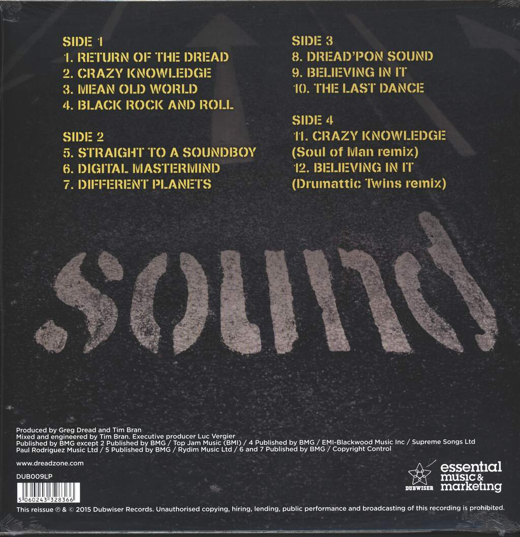 Dreadzone: Sound, 2×LP (Vinyl)