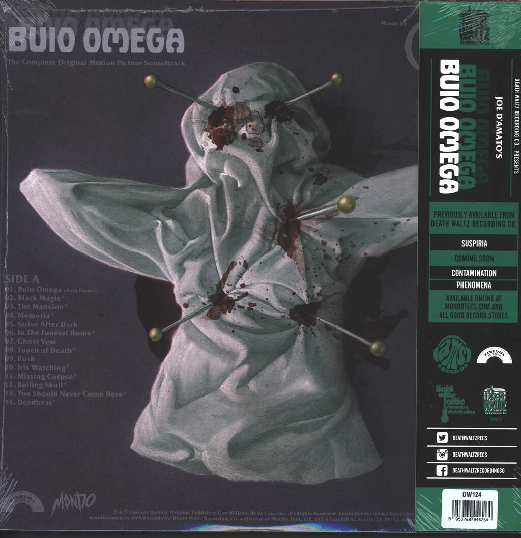Goblin: Buio Omega (Original Motion Picture Soundtrack), LP (Vinyl)