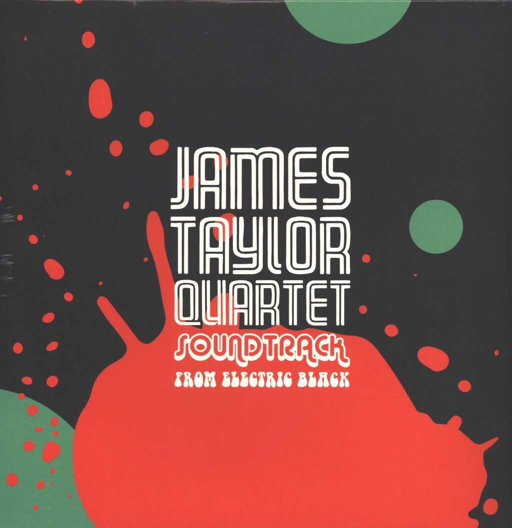 The James Taylor Quartet: Soundtrack From Electric Black, LP (Vinyl)