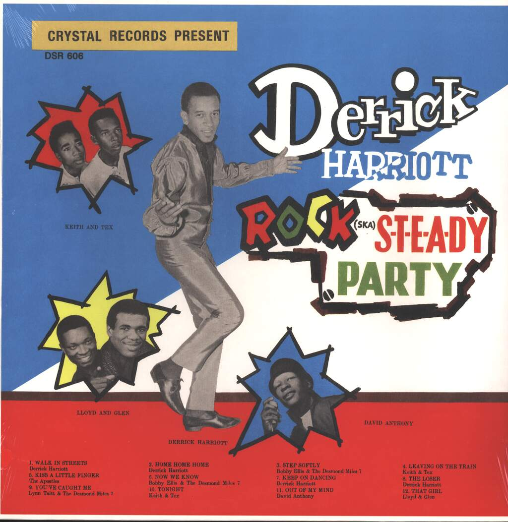Derrick Harriott: Rock Steady Party, LP (Vinyl)