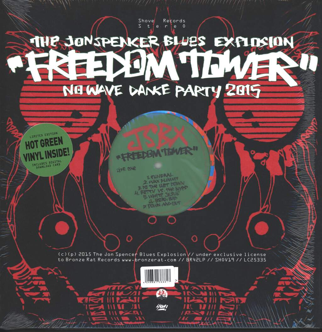The Jon Spencer Blues Explosion: Freedom Tower-No Wave Dance Party 2015, LP (Vinyl)