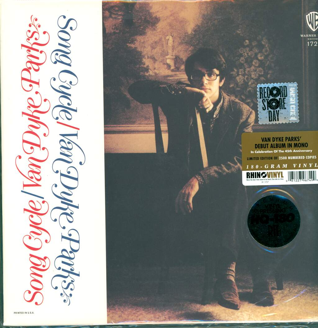 Van Dyke Parks: Song Cycle, LP (Vinyl)