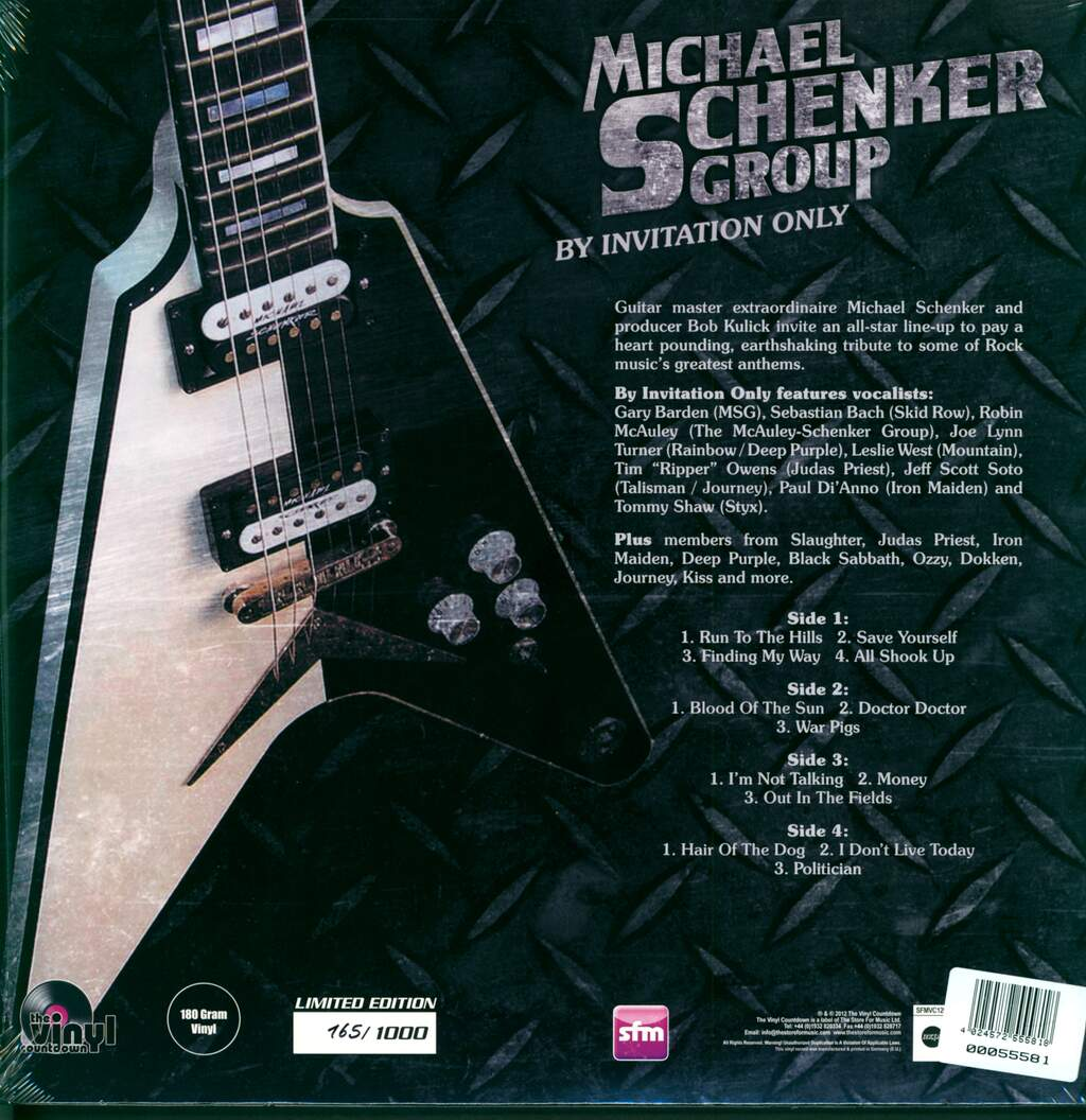 The Michael Schenker Group: By Invitation Only, 2×LP (Vinyl)