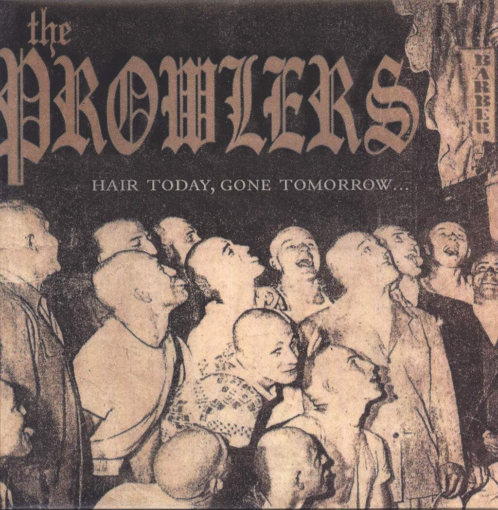 The Prowlers: Hair Today, Gone Tomorrow..., LP (Vinyl)