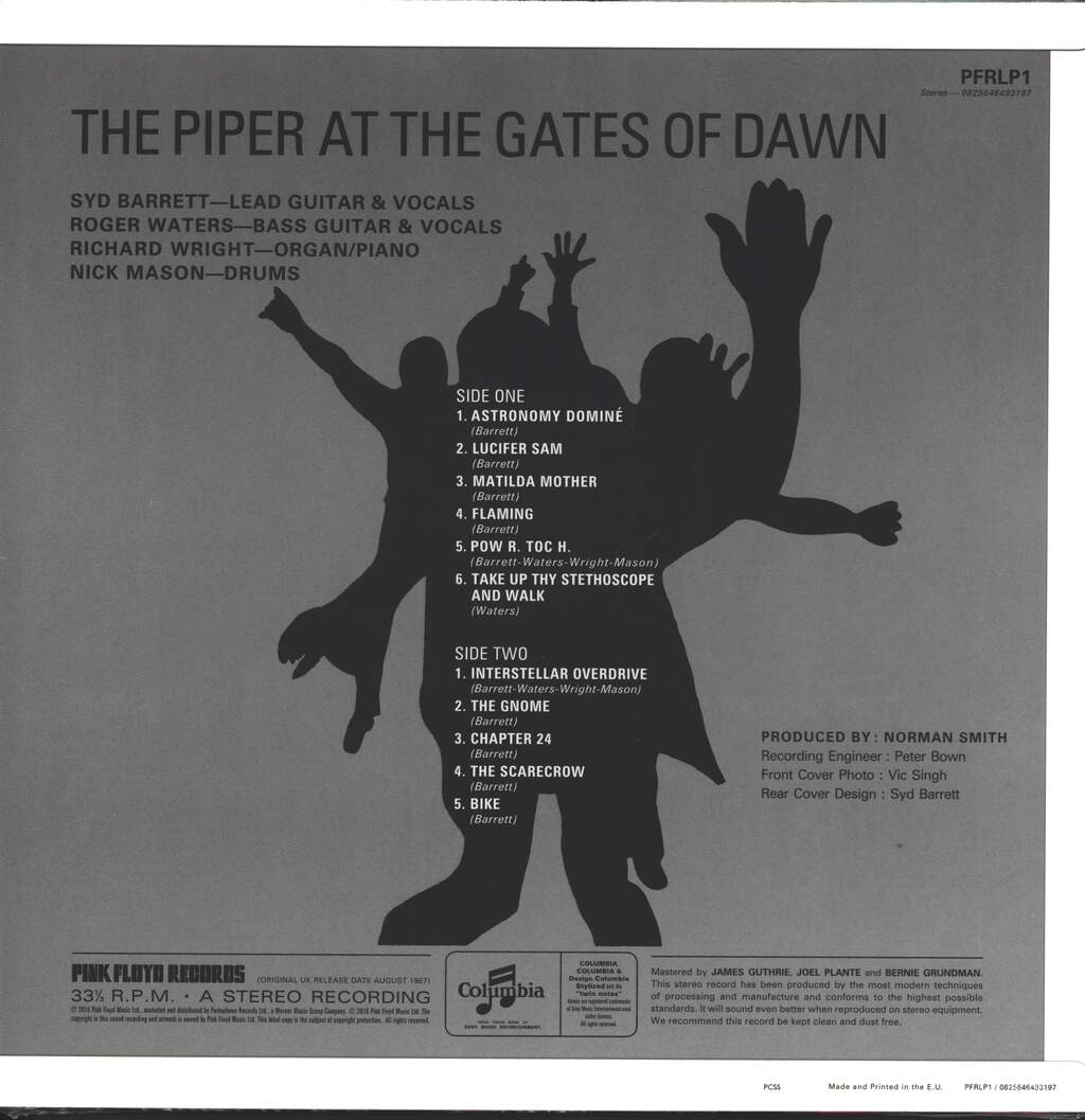 Pink Floyd: The Piper At The Gates Of Dawn, LP (Vinyl)