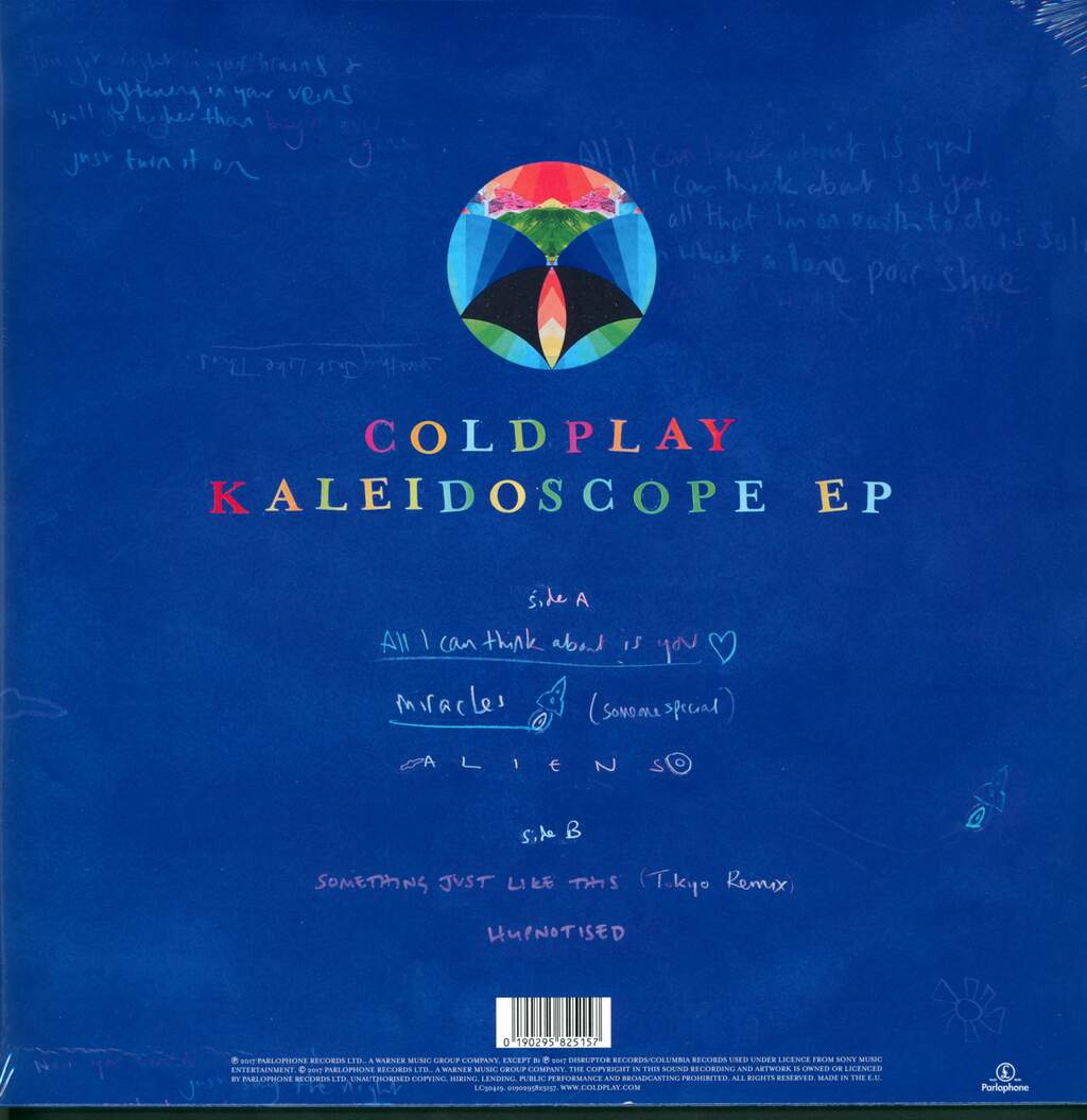 "Coldplay: Kaleidoscope EP, 12"" Maxi Single (Vinyl)"