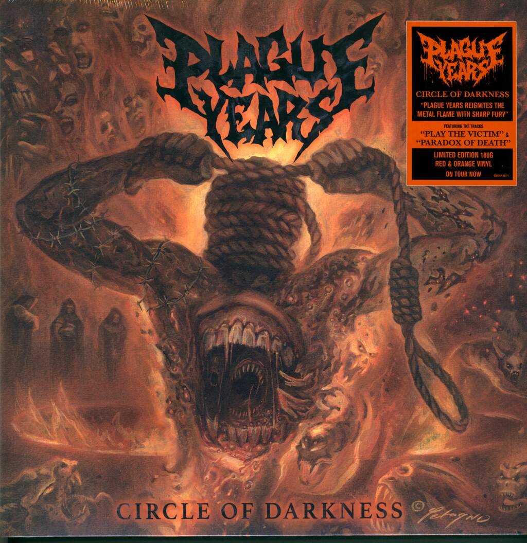 Plague Years: Circle Of Darkness, LP (Vinyl)