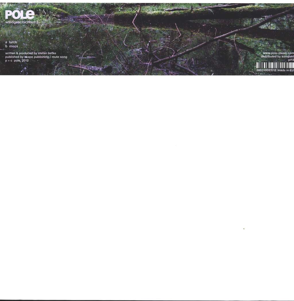 "Pole: Waldgeschichten 3, 12"" Maxi Single (Vinyl)"