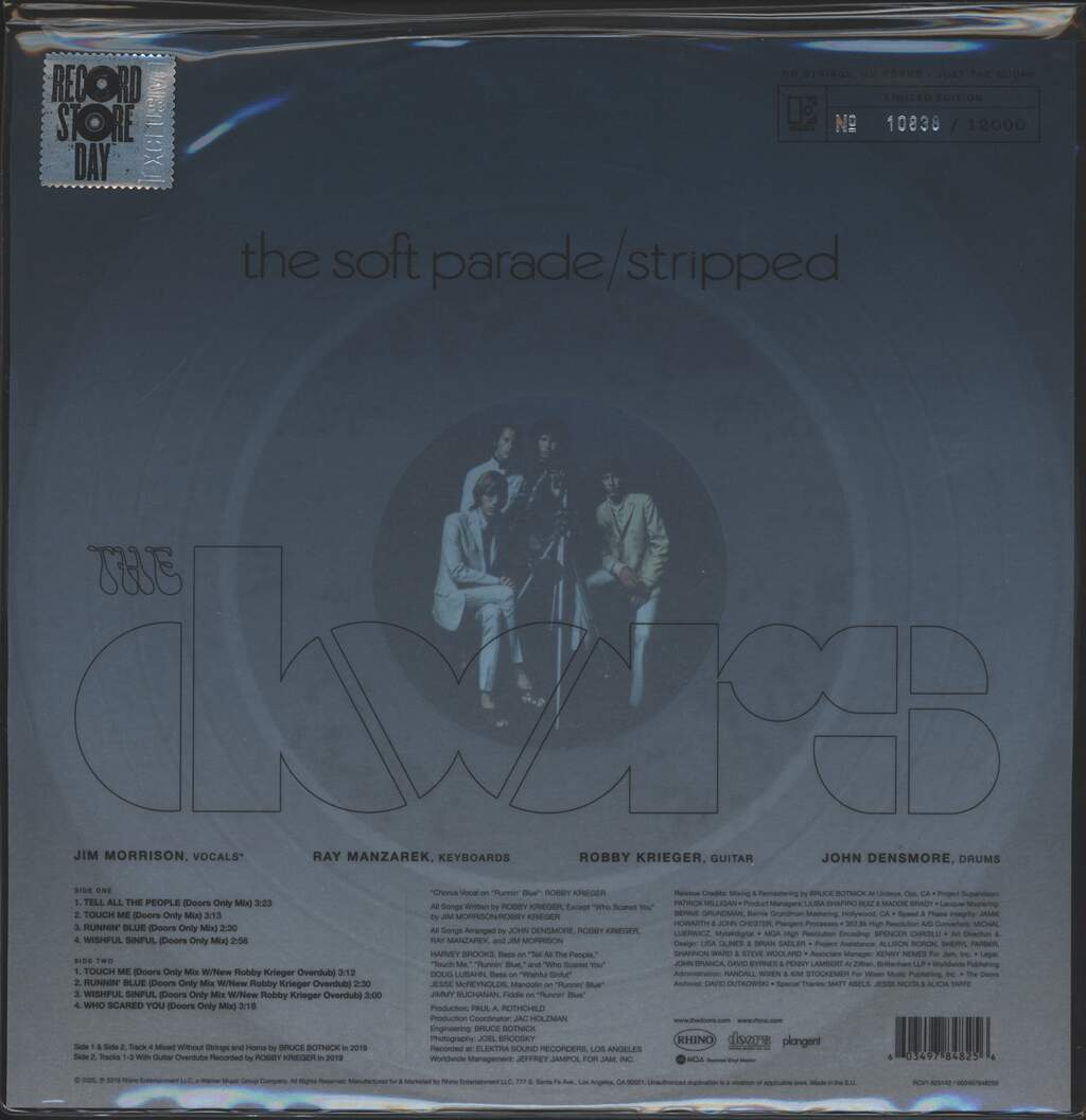 The Doors: The Soft Parade: Stripped, LP (Vinyl)