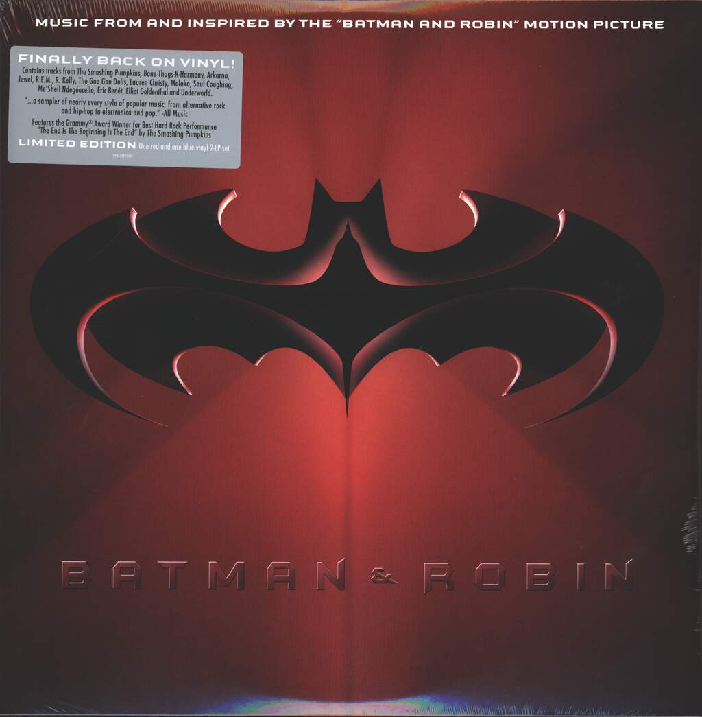 """Various: Batman & Robin: Music From And Inspired By The """"Batman & Robin"""" Motion Picture, 2×LP (Vinyl)"""