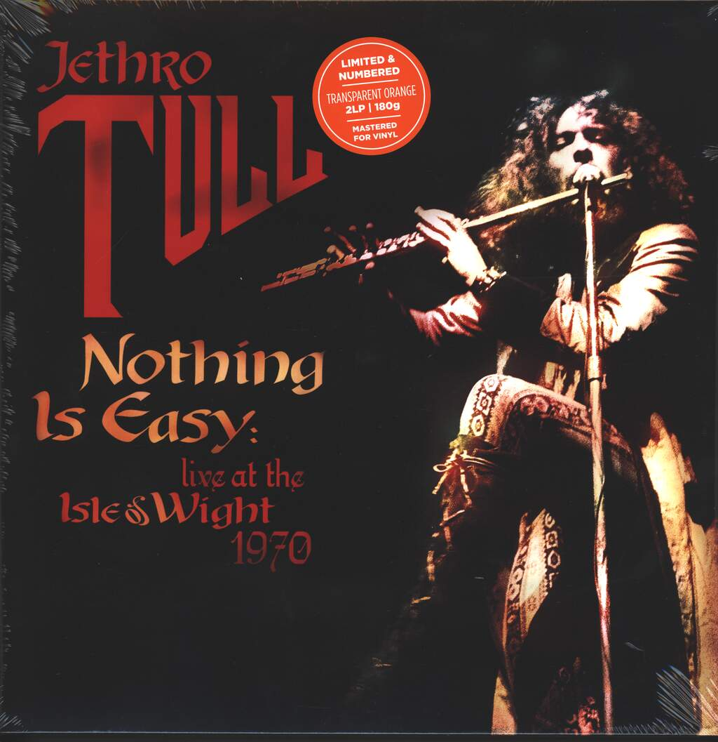 Jethro Tull: Nothing Is Easy: Live At The Isle Of Wight 1970, 2×LP (Vinyl)