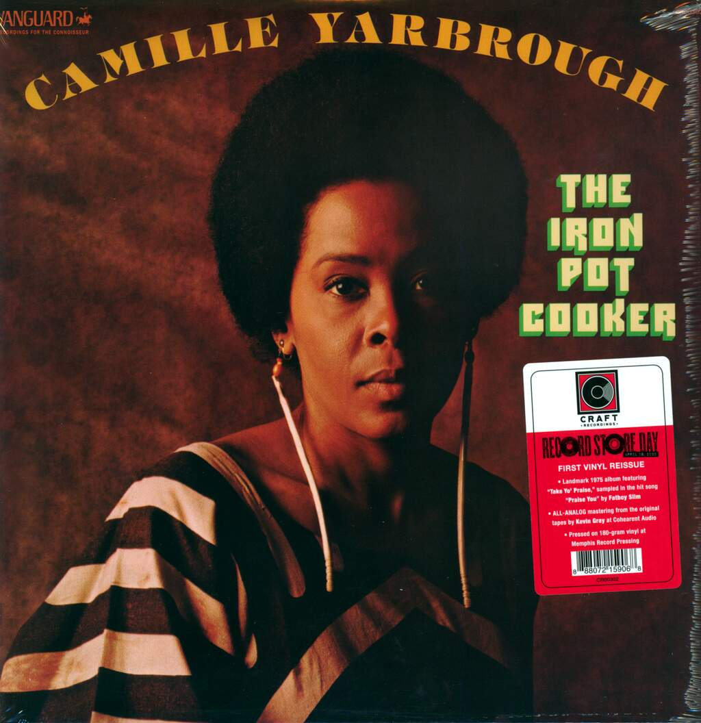 Camille Yarbrough: The Iron Pot Cooker, LP (Vinyl)