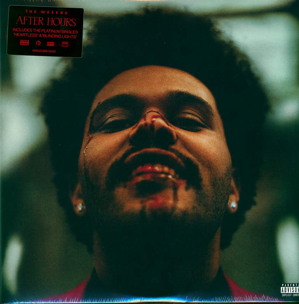 The Weeknd: After Hours, 2×LP (Vinyl)