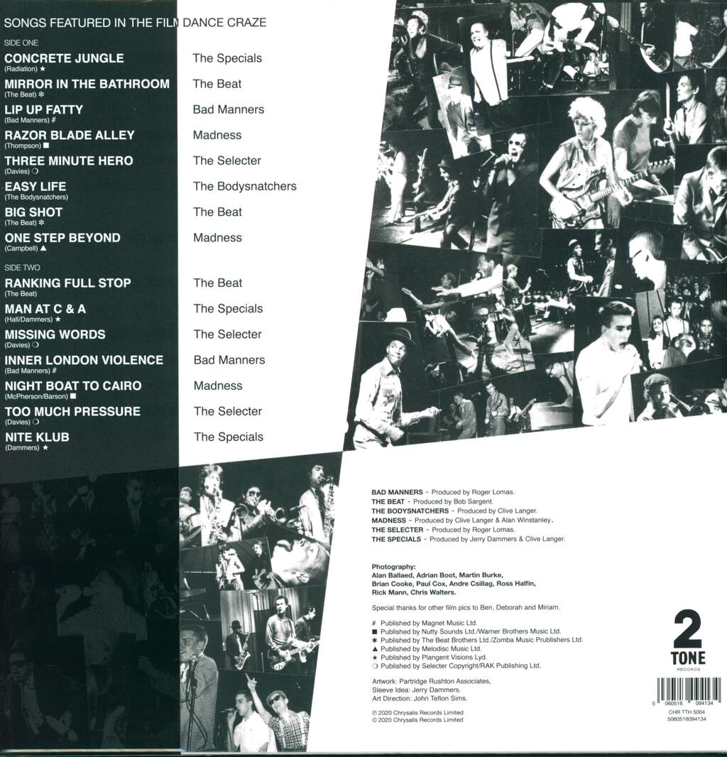 Various: Dance Craze - The Best Of British Ska... Live!, LP (Vinyl)