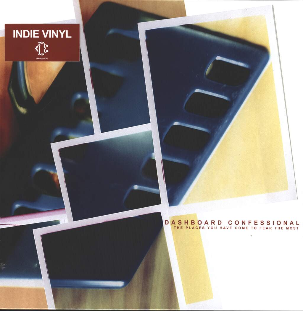 Dashboard Confessional: The Places You Have Come To Fear The Most, LP (Vinyl)