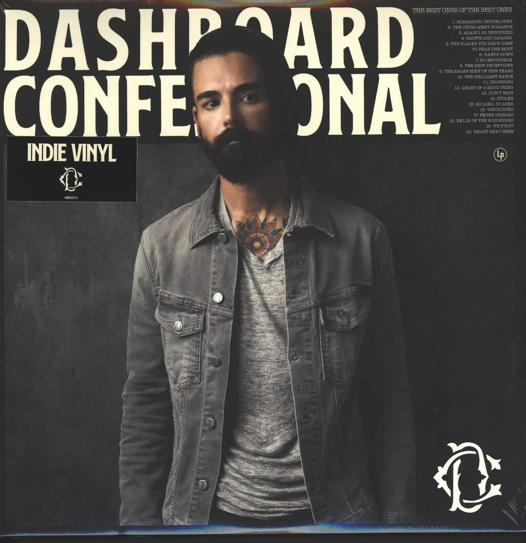 Dashboard Confessional: The Best Ones Of The Best Ones, 2×LP (Vinyl)