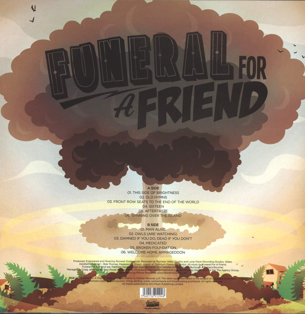 Funeral For A Friend: Welcome Home Armageddon, LP (Vinyl)