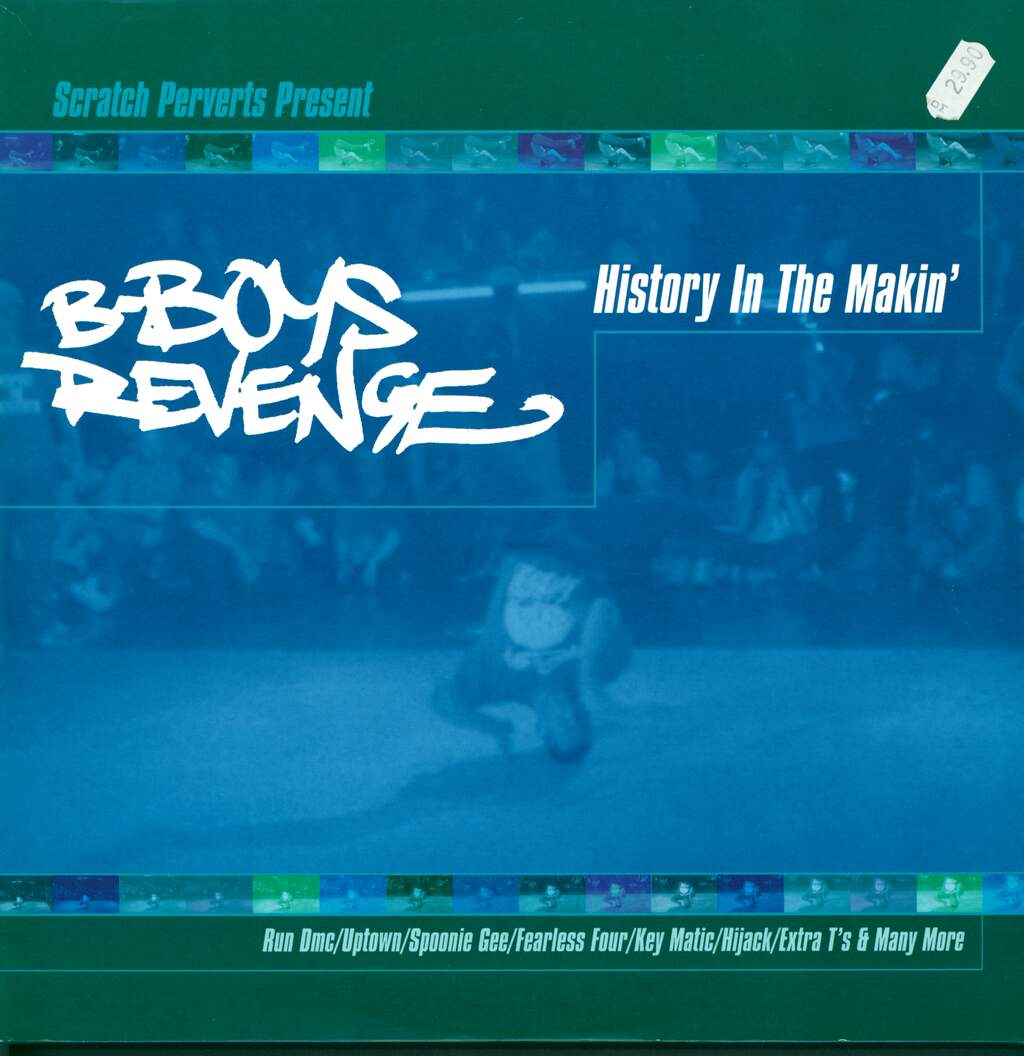 Various: B-Boys Revenge - History In The Makin', 2×LP (Vinyl)