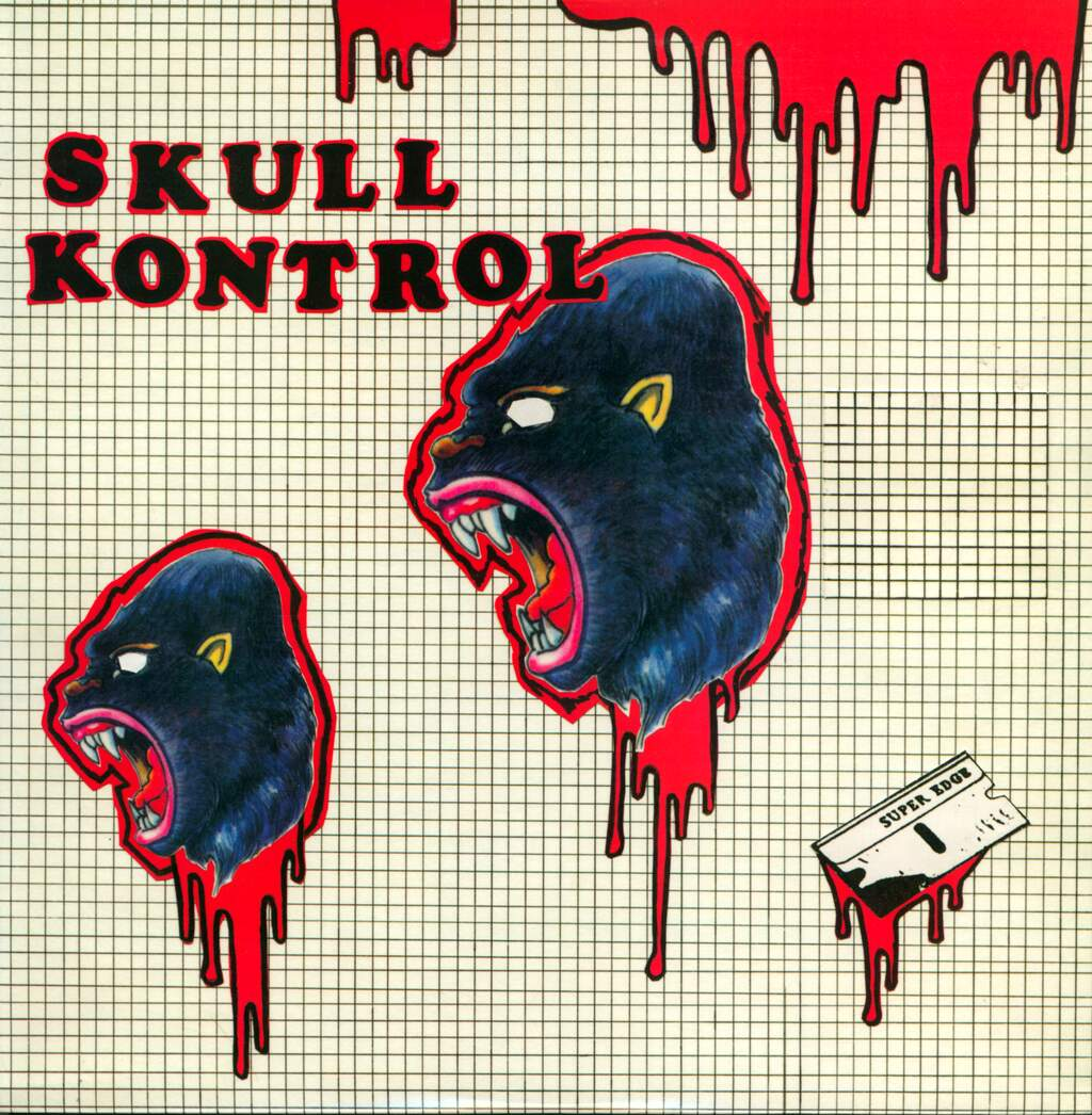 "Skull Kontrol: Deviate Beyond All Means Of Capture, 12"" Maxi Single (Vinyl)"
