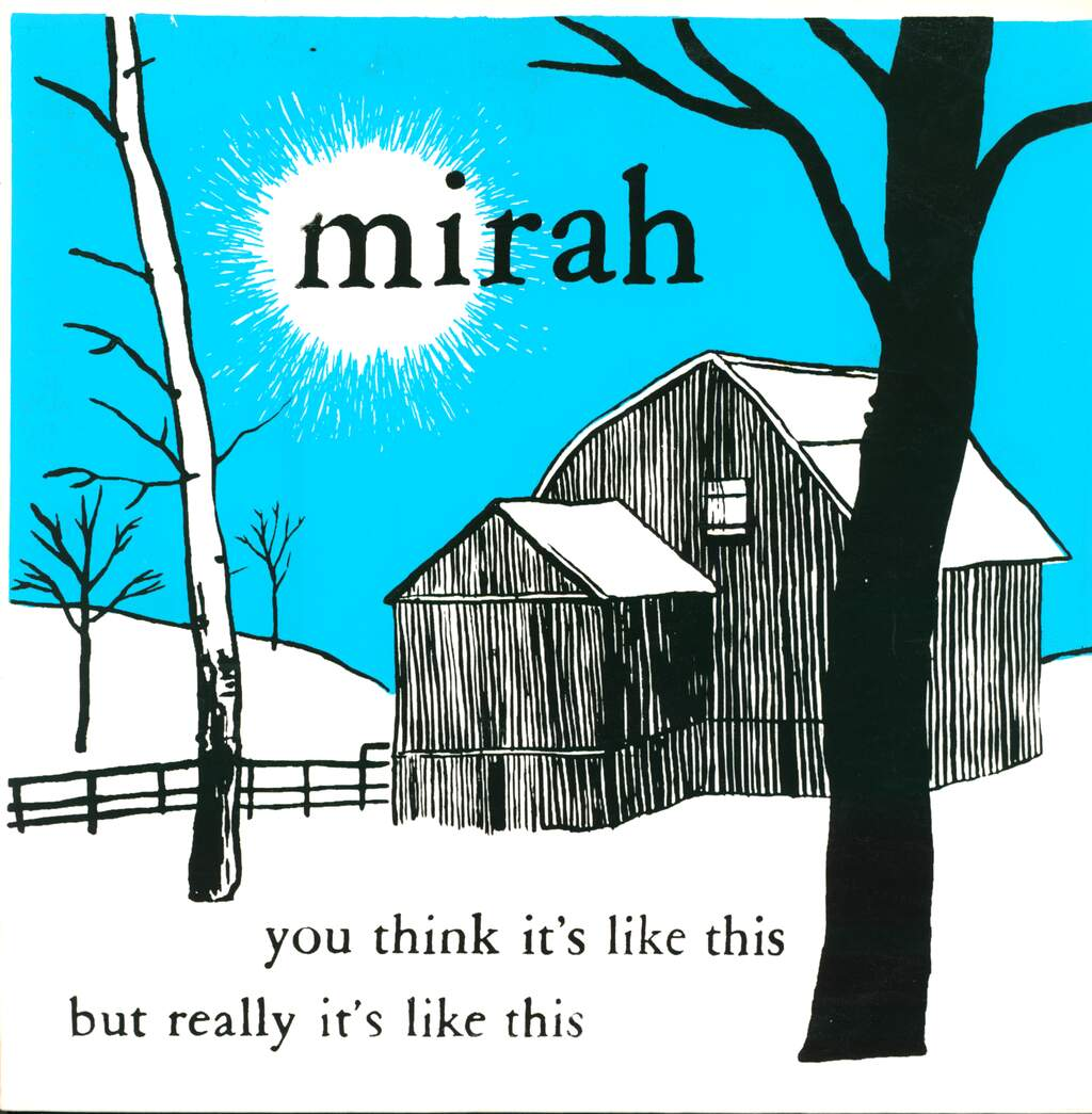 Mirah: You Think It's Like This But Really It's Like This, LP (Vinyl)