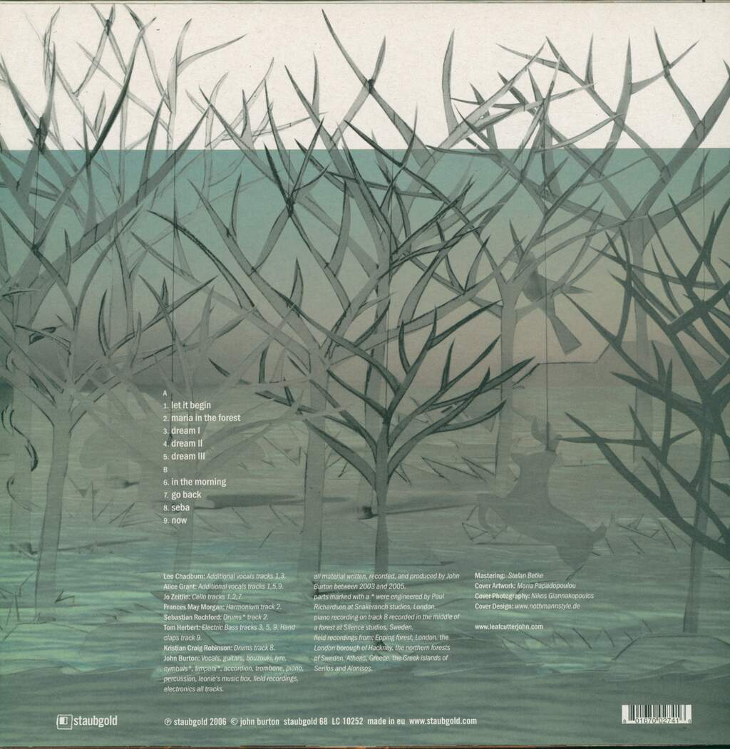 Leafcutter John: The Forest And The Sea, LP (Vinyl)