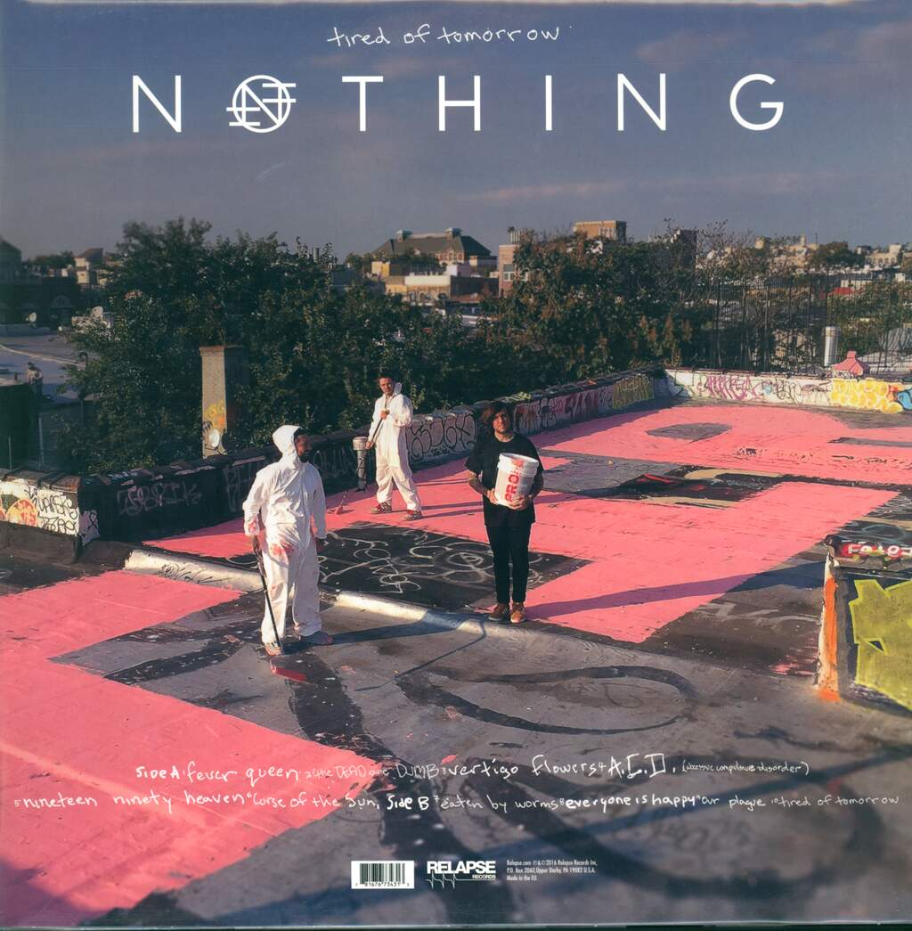 Nothing: Tired Of Tomorrow, LP (Vinyl)