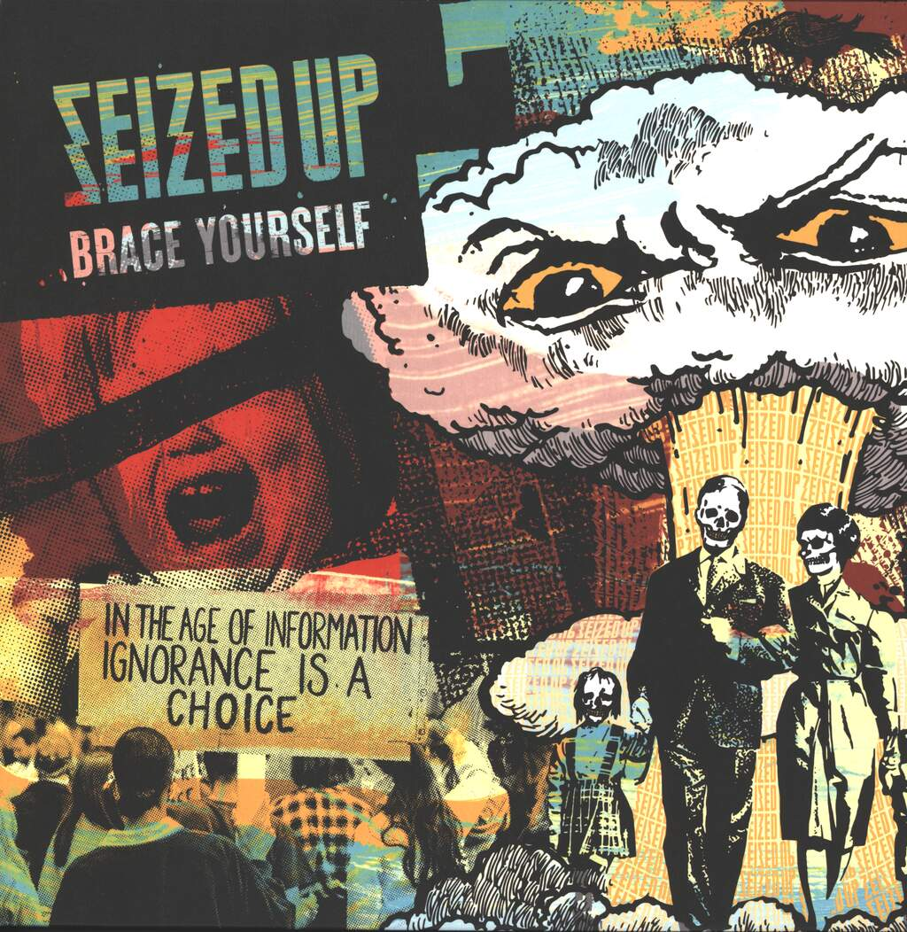 Seized Up: Brace Yourself, LP (Vinyl)