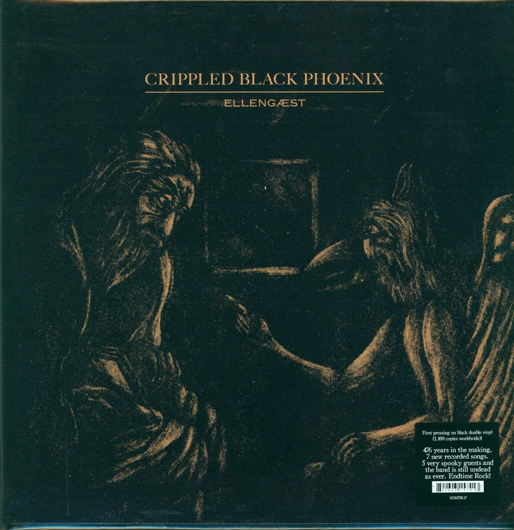 Crippled Black Phoenix: Ellengaest, 2×LP (Vinyl)