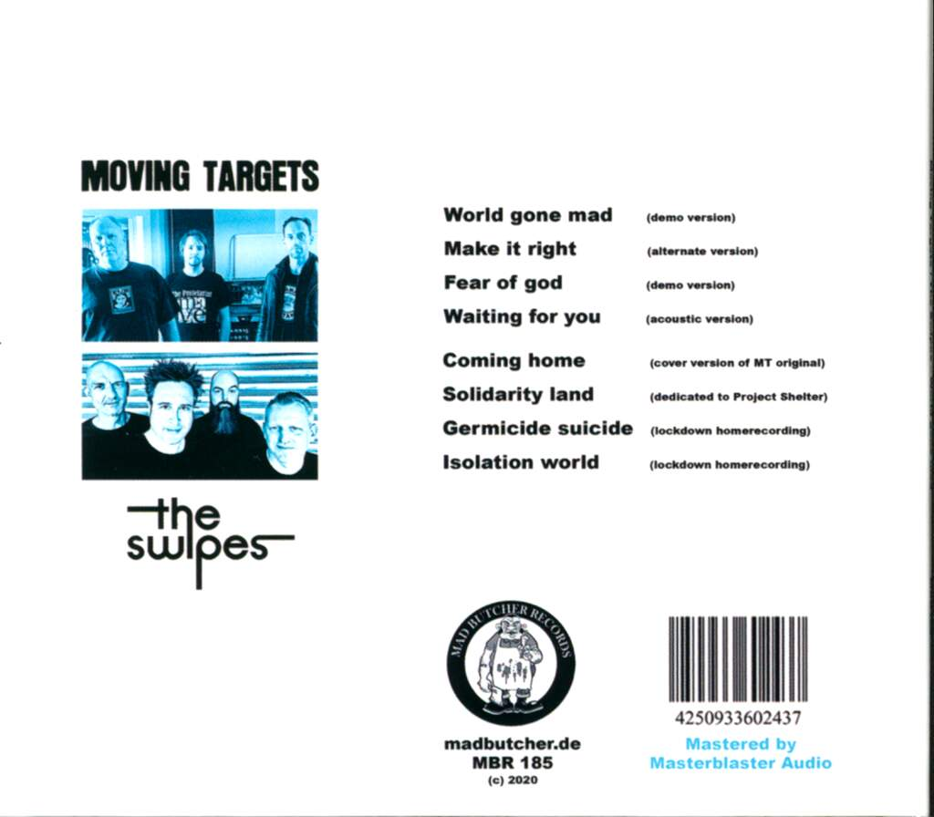 Moving Targets: World Gone Mad, CD