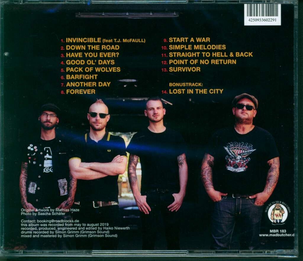The Roadblocks: Troubled Times, CD