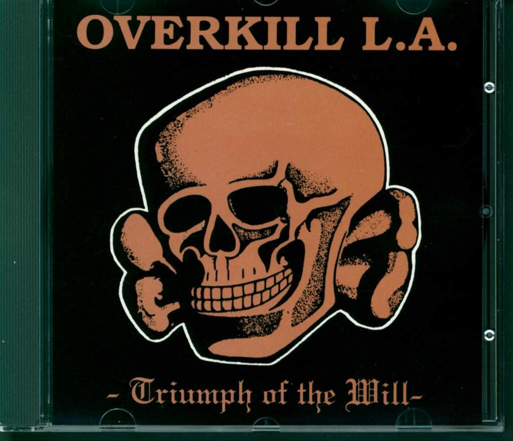Overkill: Triumph Of The Will, CD
