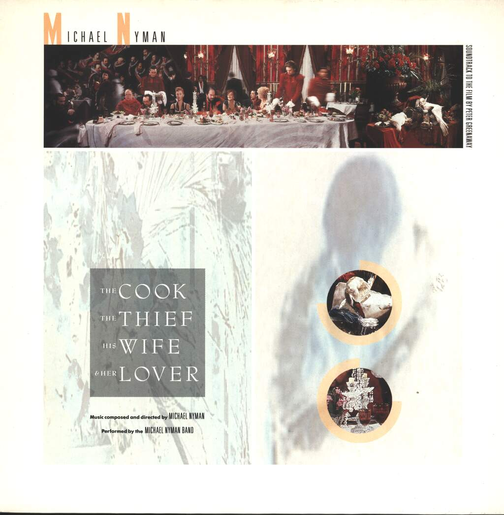 Michael Nyman: The Cook, The Thief, His Wife And Her Lover, LP (Vinyl)