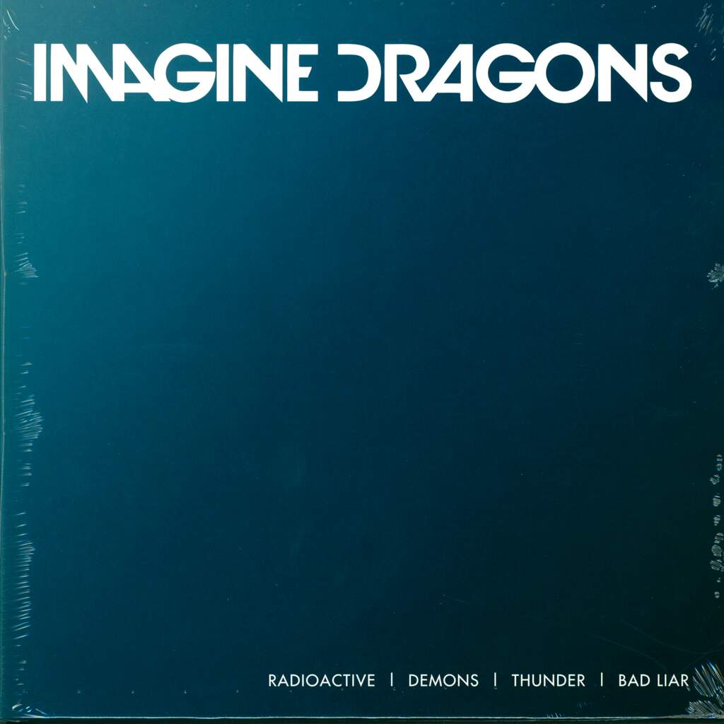 "Imagine Dragons: Radioactive / Demons / Thunder / Bad Liar, 10"" Vinyl EP"