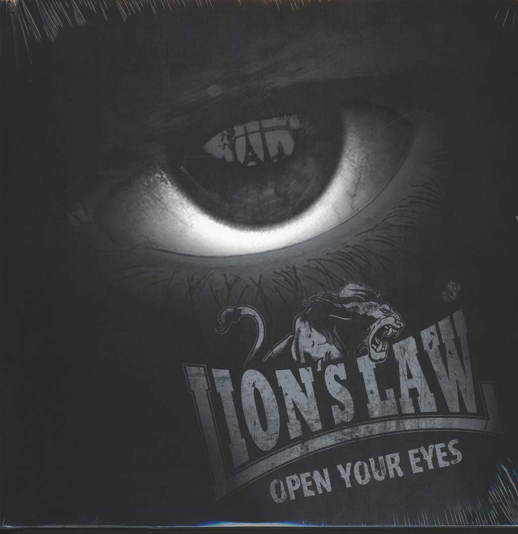 Lion's Law: Open Your Eyes, Mini LP (Vinyl)