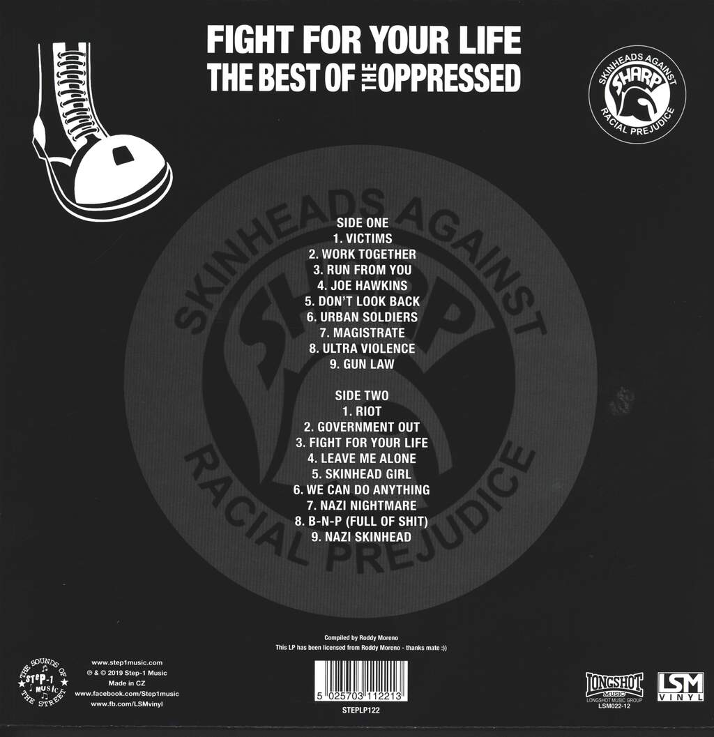 The Oppressed: Fight For Your Life - The Best Of The Oppressed, LP (Vinyl)